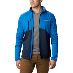 Columbia Mountain Powder Jas met Doorlopende Rits Heren, bright indigo/collegiate navy